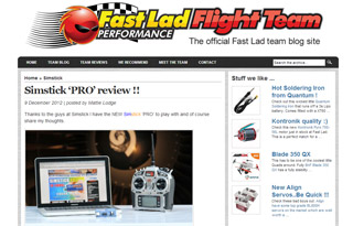 Simstick PRO review from Mattie Lodge of Fast Lad Flight Team